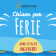 CHIUSO PER FERIE ESTATE 2019_ICON