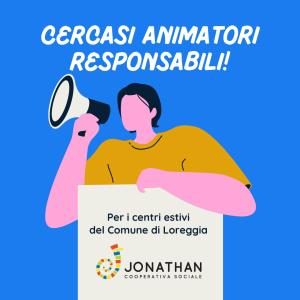 Banner Call Animatori Loreggia