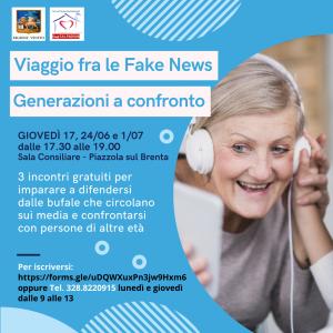 Banner Fake News Generazioni NEW