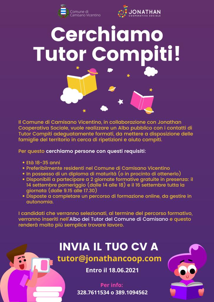 Manifesto A3 Tutor Camisano